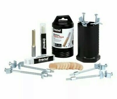 £22.49 • Buy Trend Kitchen Fitters Pack For Worktop Cutting & Joining S/BR/KFP/1 NEW (X)