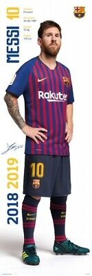 £8.57 • Buy Football - Fc Barcelona 2018/2019 Messi Poster Print (62x21in) #124959