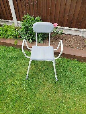 £25 • Buy Perching Shower Stool Adjustable Height Padded