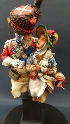 £54 • Buy Napoleonic Swiss Grenadier Sapper With Cantinere 1812 Bust