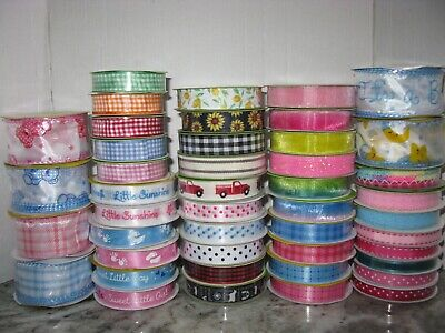 £1.28 • Buy NEW FARMHOUSE RUSTIC IT'S A GIRL BOY BABY SHOWER Ribbon **45 STYLES AVAILABLE**