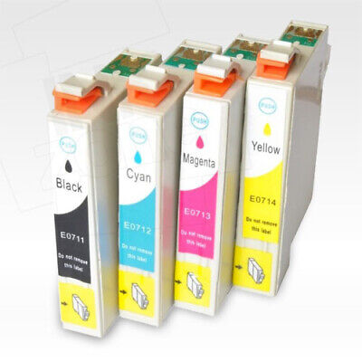 £5.99 • Buy Full Set Of Non-OEM Compatible Inks For EPSON Stylus DX7450 DX8400 DX8450 DX9400