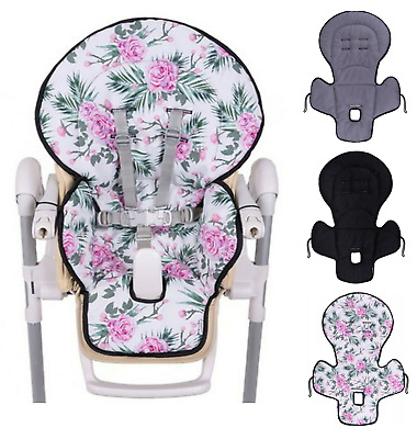 £19.99 • Buy Replacement To Fit High Chair Seat Feeding Cover Cushion Highchair Liner Insert