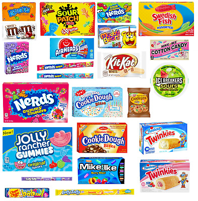 £2.49 • Buy American Sweets OVER 75 CHOICES JOLLY RANCHER NERDS ROPE MIKE AND IKE IMPORTED
