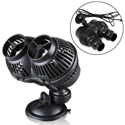 £19.11 • Buy Wave Maker Powerhead Pump Double Heads Fountain Maker For Pond Fish Tank