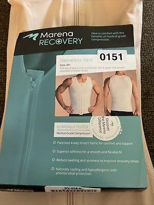 £21.86 • Buy Marena Recovery Compression Vest Mens 2Xtra-Small Beige