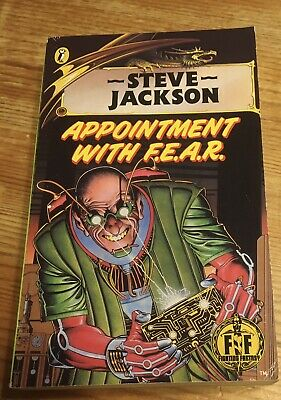 AU55.62 • Buy Appointment With F.E.A.R. Fighting Fantasy Jackson Book 17 Bronze Drag