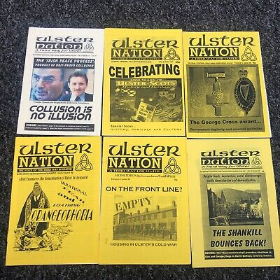 £5.49 • Buy 6 X Ulster Nation Post Ulster NF National Front Publication Magazines