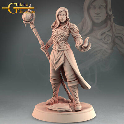 £6 • Buy Battle Mage, Into The Woods, Galaad Miniatures, D&D, Rpg, Dungeons And Dragons