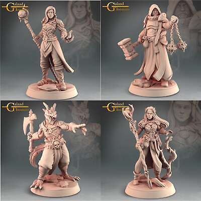£30 • Buy 11 Heroes Set, Into The Woods, Galaad Miniatures, RPG, DnD, Dungeons & Dragons
