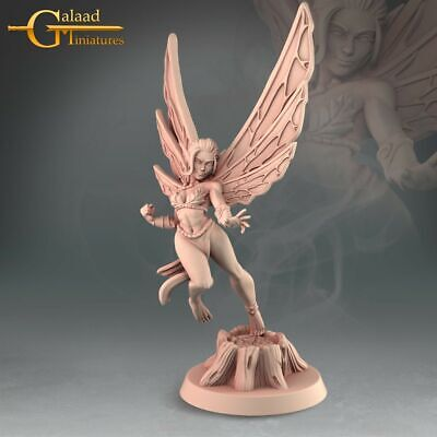 £6 • Buy Faeries X3, Into The Woods, Galaad Miniatures, Fairies, D&D, RPG