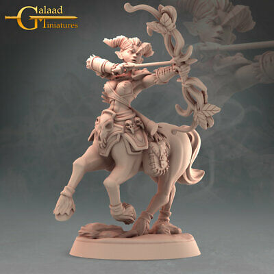 £8 • Buy Centaurs X7, Into The Woods, Galaad Miniatures, D&D, RPG, Dungeons And Dragons