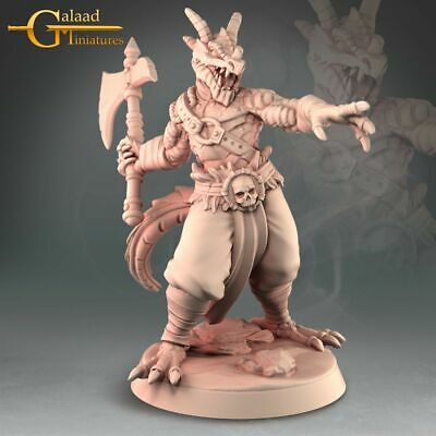 £6 • Buy Dragon Born, Into The Woods, Galaad Miniatures, D&D, Rpg, Dungeons And Dragons