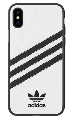 AU21.31 • Buy Adidas 3-Stripes Snap Hard Case For Apple IPhone XS And X - White / Black