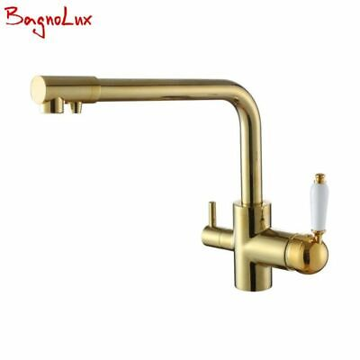 £164.39 • Buy Kitchen Sink Faucet Pull Down Sprayer Filter Rotatable 3 Way Flow Deck Mounted