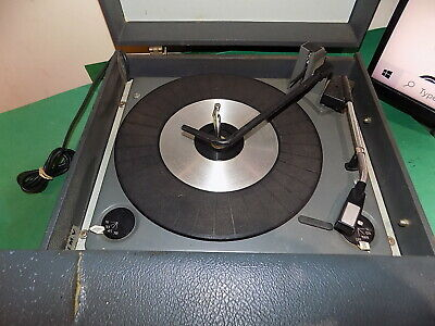 £39.99 • Buy HMV Vintage 1960s Record Player System 16 33 45 78 Model 2022 SPARES REPAIRS