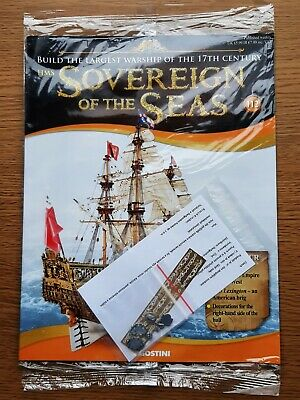 £4.95 • Buy Deagostini Build The HMS Sovereign Of The Seas Warship Issue 112  New
