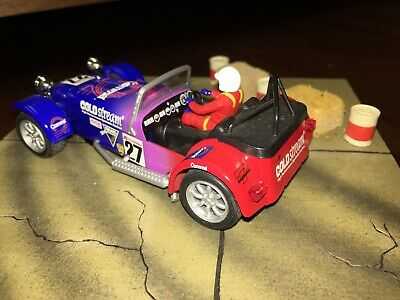 £43.57 • Buy C2201 Scalextric Caterham Seven Cold Stream Slot Car New Without Case Or Display