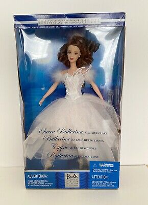 £49.99 • Buy Barbie Doll Swan Ballerina From Swan Lake 2001 NRFB Brunette Collectible