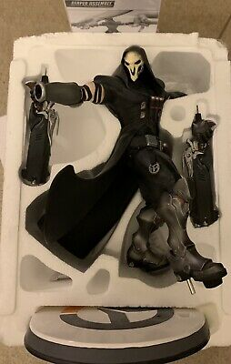 AU138 • Buy Overwatch Reaper Statue - Used But In Great Condition