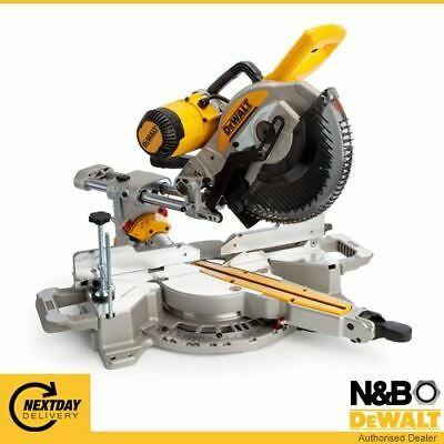£565.99 • Buy DWS727-GB 240 Volt 250mm Double Bevel Slide Mitre Saw With XPS