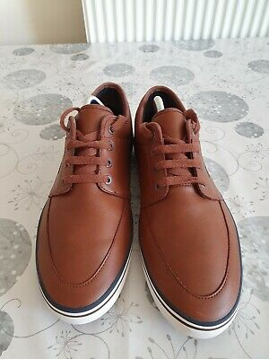 £45 • Buy Fred Perry Mens Leather Shoes Size 11uk Brown
