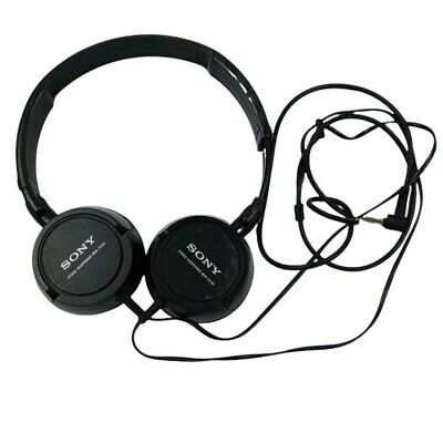 £7.18 • Buy Sony Stereo Headphones MDR-ZX100 Black Tested