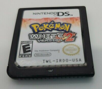 $154.99 • Buy Pokemon: White Version 2 Nintendo DS Game Cartridge Only Authentic TESTED Video