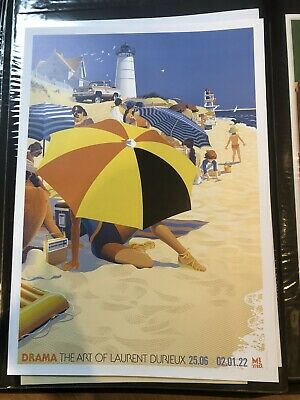 £99.99 • Buy SUMMER OF 75' By Laurent Durieux Jaws Poster 50 X 70 Cm Mondo Artist
