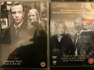 £6.99 • Buy Wire In The Blood Series 1 2 3 4 DVD Boxset Bundle