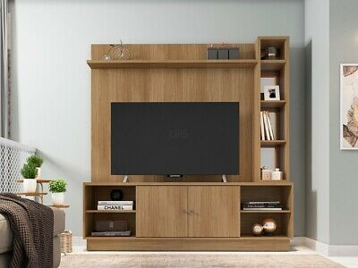 £169.99 • Buy TV Media Unit Entertainment Centre Storage Cabinet TV Stand Mirrored Display