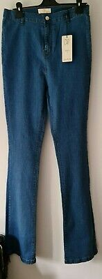 £14 • Buy Skinny Flare Jeans By Dont Think Twice ~ 12 Tall ~ NWT