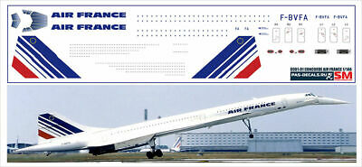 £9.29 • Buy 1:144 PAS-Decals #0001-01 - Concorde Air France, Decal For Revell, Airfix Kit