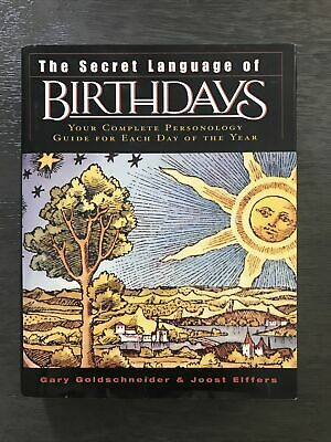 £18.27 • Buy The Secret Language Of Birthdays : Your Complete Personology Guide For Each Day