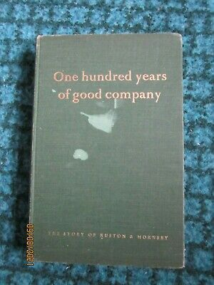 £39 • Buy Ruston And Hornsby One Hundred Years Of Good Company, Bernard Newman,  Lincoln