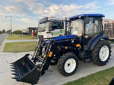 AU36990 • Buy Lovol M704 70hp Tractor, Front End Loader, Syncro Gearbox, Aircon Cabin + More