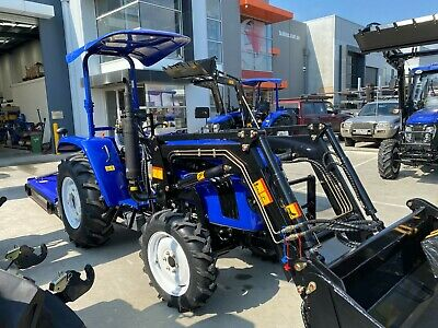 AU26990 • Buy Lovol M504 50hp Tractor, Front End Loader, Rop's & Sunshade