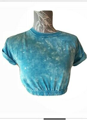£3.10 • Buy Hearts And Bows Tie Dye Cropped Top,size 6/8   E