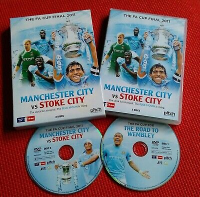 £4.79 • Buy The FA Cup Final 2011 Manchester City Vs Stoke City DVD, (2 Discs)  Football.