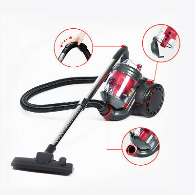 £44.68 • Buy 700W Powerful Vacuum Cleaner Bagless Cyclonic Cylinder Hoover Compact Lite Vac
