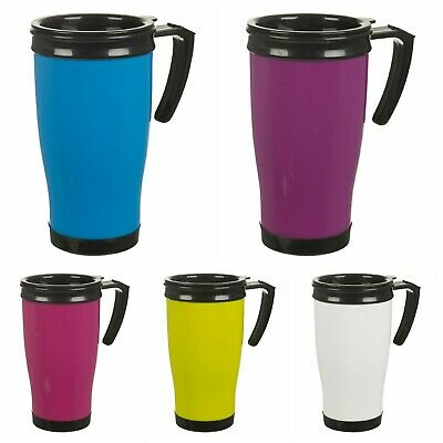 £7.95 • Buy Leakproof Insulated Thermal Travel Coffee Mug Cup Flask Non Spill Heat Resistant