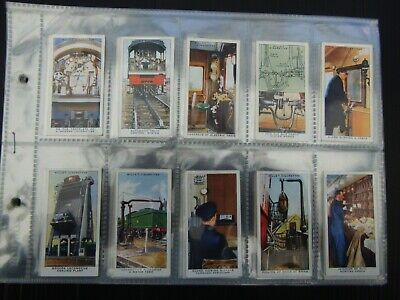 £0.99 • Buy One Complete Set Cigarette Cards Will's Railway Equipment