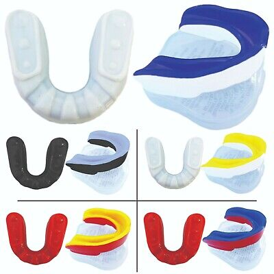 £1.99 • Buy Adult Boxing MMA Gum Shield Teeth Protector Mouth Guard With Case Taekwondo