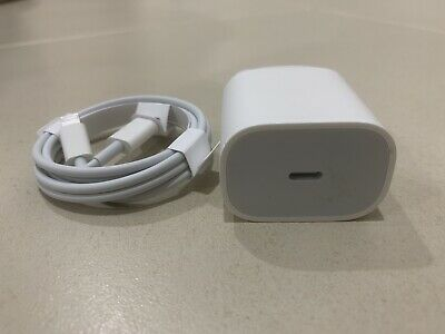 AU30 • Buy Genuine USB-C To Lightning Cable & 20W Adapter