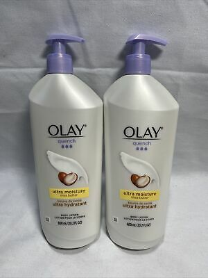 AU33.11 • Buy Olay Quench Body Lotion Ultra Moisture Shea Butter Vitamins E B Pack Of 2 W4
