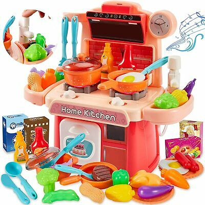 £8.24 • Buy Electronic Children Kids Kitchen Cooking Toy Portable Girls Cooker Play Set Gift