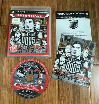£3.49 • Buy SLEEPING DOGS - Sony PlayStation 3 PS3 Essentials Game - 18 - Square Enix
