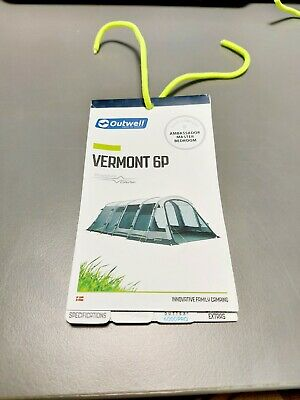 £530 • Buy Outwell Vermont 6 Person Tent Brand New