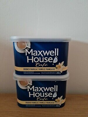 £16.99 • Buy Maxwell House Cafe French Vanilla 240g X2