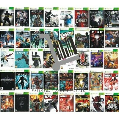 £6.29 • Buy Xbox 360 Xbox360 Games - Pick Your Games - Multi Buy Discounts - PAL - FREE P&P